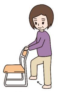コロナ,対策,COVID-20,自宅,在宅,自粛,運動,腿上げ,椅子
